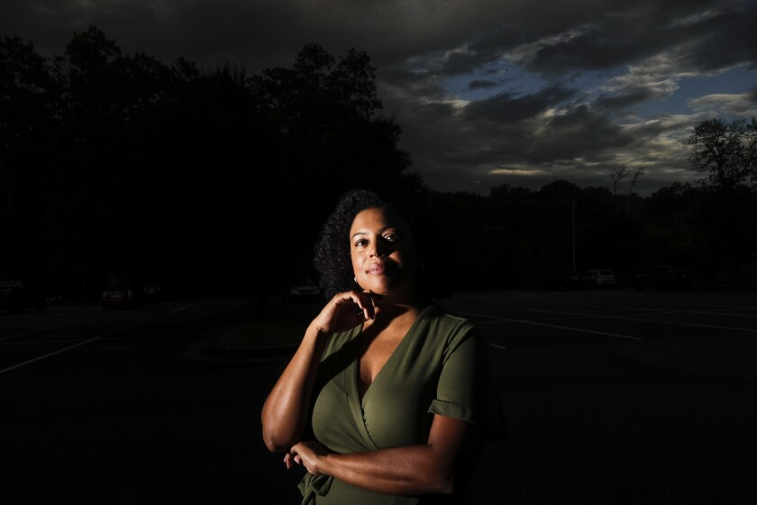 Charisse Davis is the only Black woman on the Cobb County School Board in George.