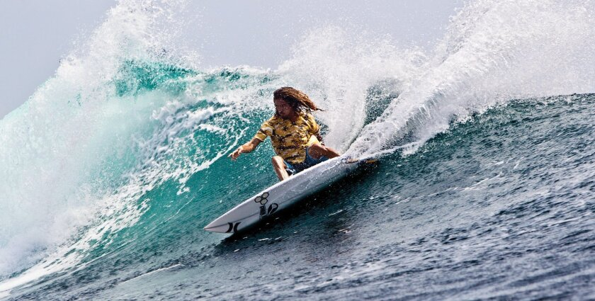 """""""Kids should have access to water at school,"""" says Rob Machado, who was born in Australia and grew up in Cardiff-by-the-Sea. The Rob Machado Foundation benefit concert will be Nov. 9 at the Belly Up Tavern. Courtesy photo"""