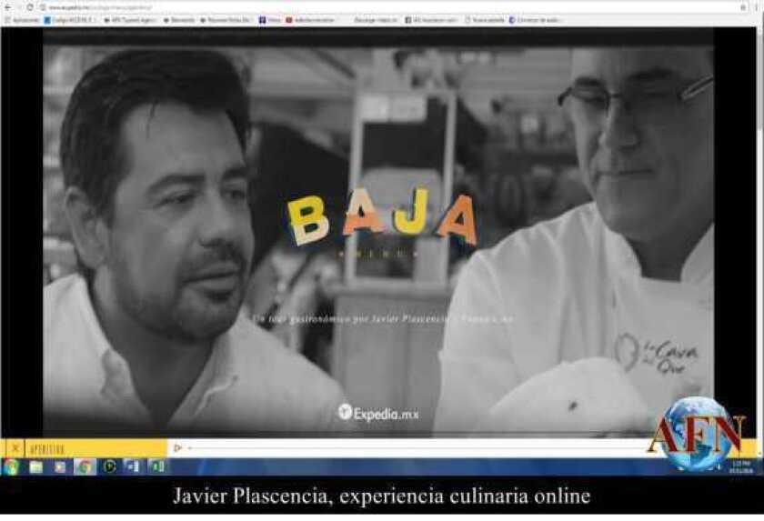 Javier Plascencia, experiencia culinaria online