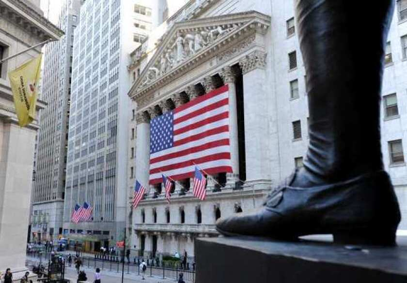 Stocks are getting a boost from the Federal Reserve attempt to spur the economy.