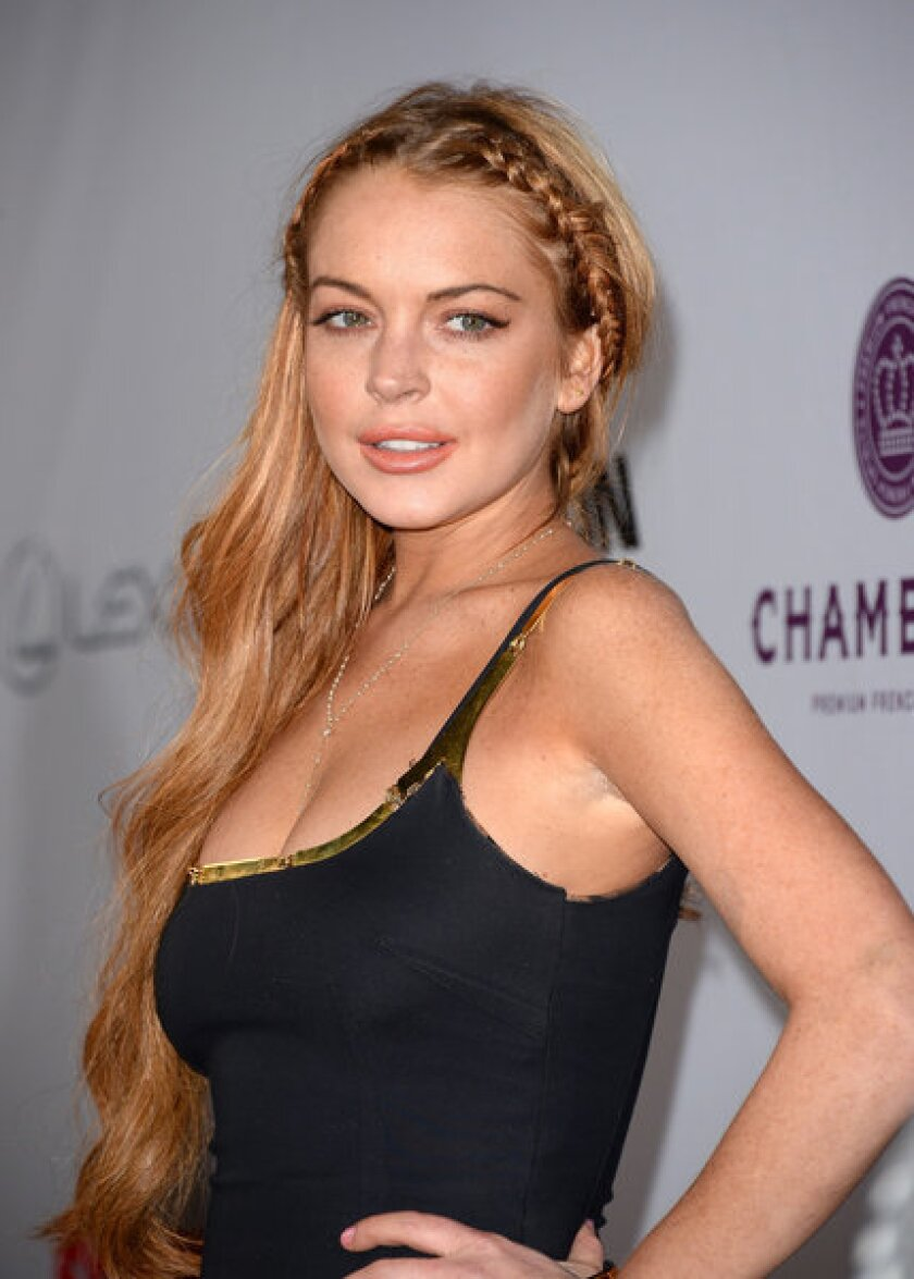 Canyons Director On Lindsay Lohan It S The Pills Not The Booze Los Angeles Times