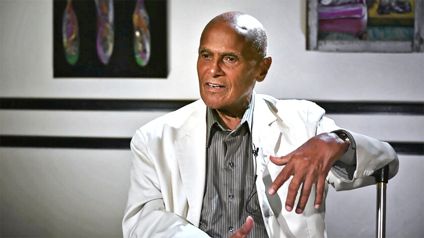 """Harry Belafonte in the Peacock documentary """"The Sit-In."""""""