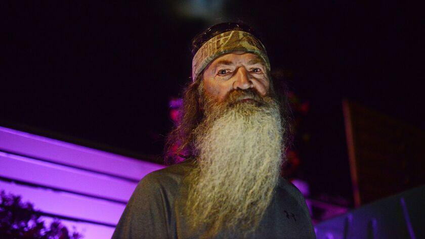 Phil Robertson in the Cannes harbour during Cannes International Film Festival in May 2016. For a St