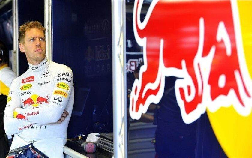 El piloto alemán de la escudería Red Bull de Fórmula Uno, Sebastian Vettel. EFE