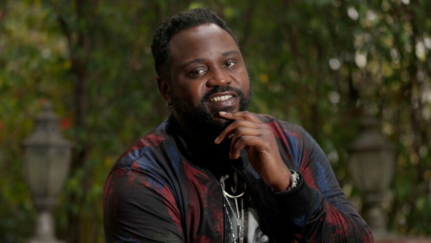 WEST HOLLYWOOD, CALIF. - FEB. 21, 2018. Brian Tyree Henry is returning to his role as underground ra