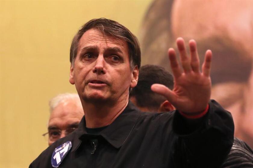 """El Fondo Monetario Internacional (FMI) afirmó hoy que las propuestas económicas del presidente electo brasileño, Jair Bolsonaro, van en la """"dirección adecuada"""" aunque insistió en que es """"clave"""" llevar a cabo """"una ambiciosa reforma fiscal"""", encabezada por las pensiones. EFE/Archivo"""