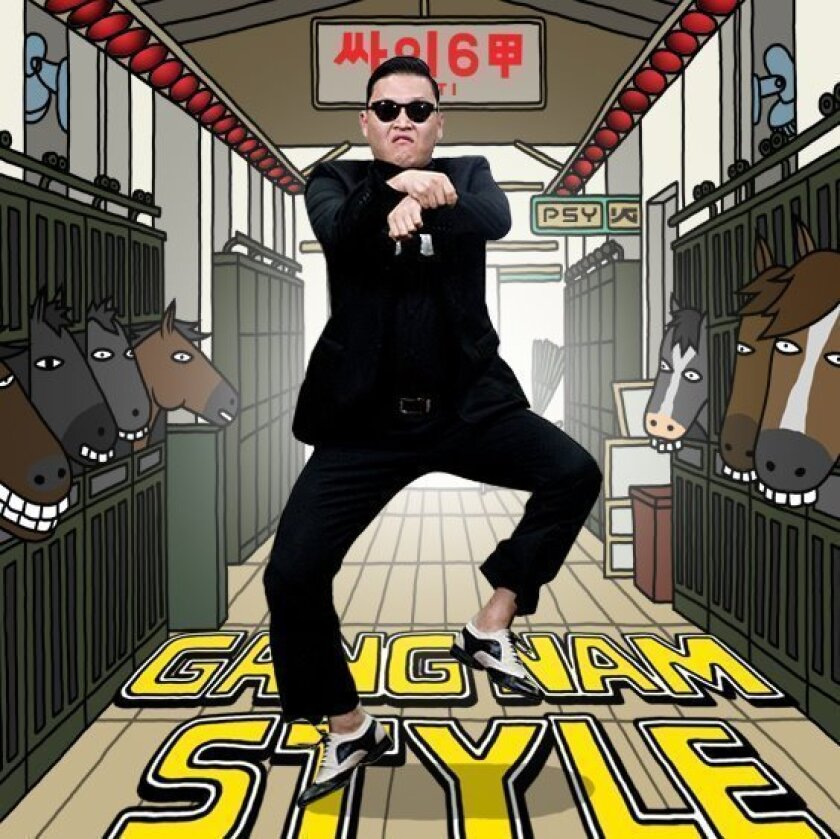 """Psy's """"Gangnam Style"""" video has been viewed more than 1 billion times on YouTube."""