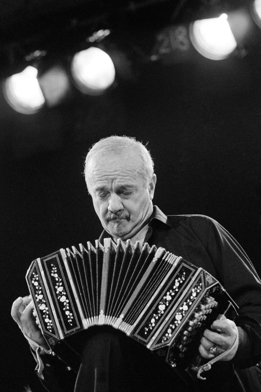 Astor Piazzolla in concert at Leverkusen Jazz Days