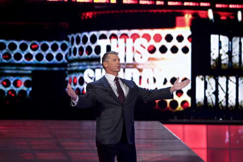 WWE Chairman Vince McMahon is shopping for new TV deals.