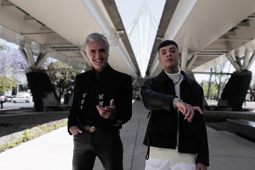 Alejandro Fernández y Natanael Cano.