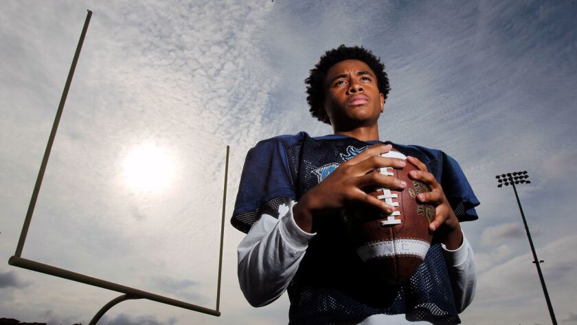Otay Ranch quarterback Jonte Stewart has made plays with his arm while stifling his urge to run.