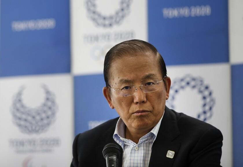 Toshiro Muto, director ejecutivo del comité ejecutivo de los Juegos Olímpicos de Tokio 2020