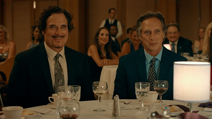 "Kim Coates, left, and William Fichtner in the movie ""Cold Brook."""