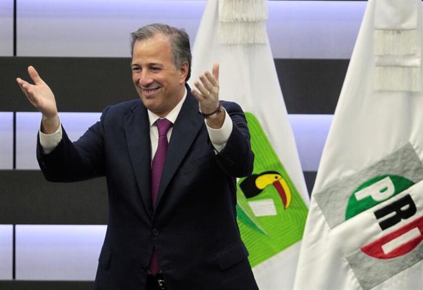 El candidato oficialista a la presidencia de México, José Antonio Meade. EFE/Archivo