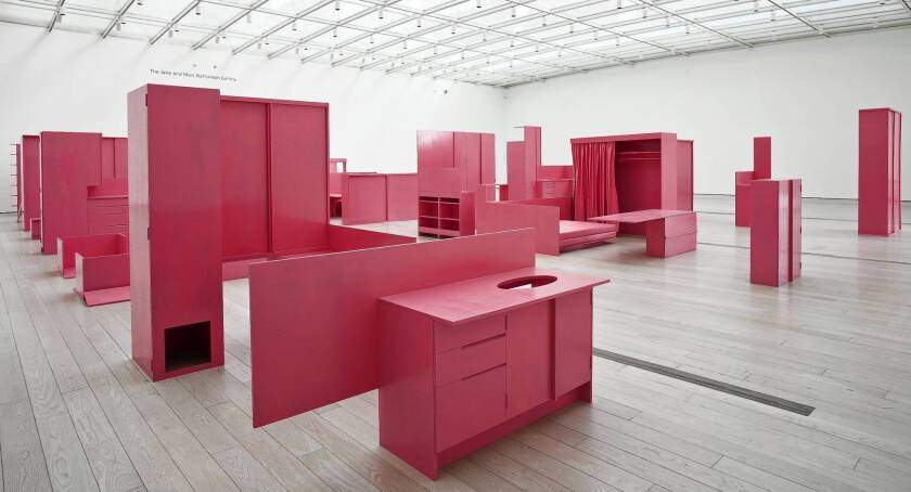 Review: History lurks in Stephen Prina's sculptures at LACMA