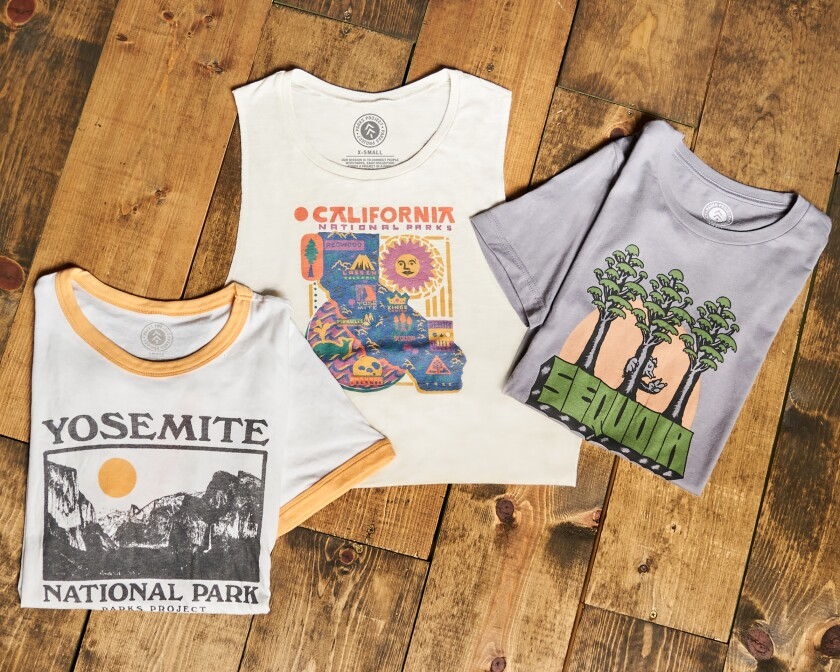 Parks Project's California-inspired shirts