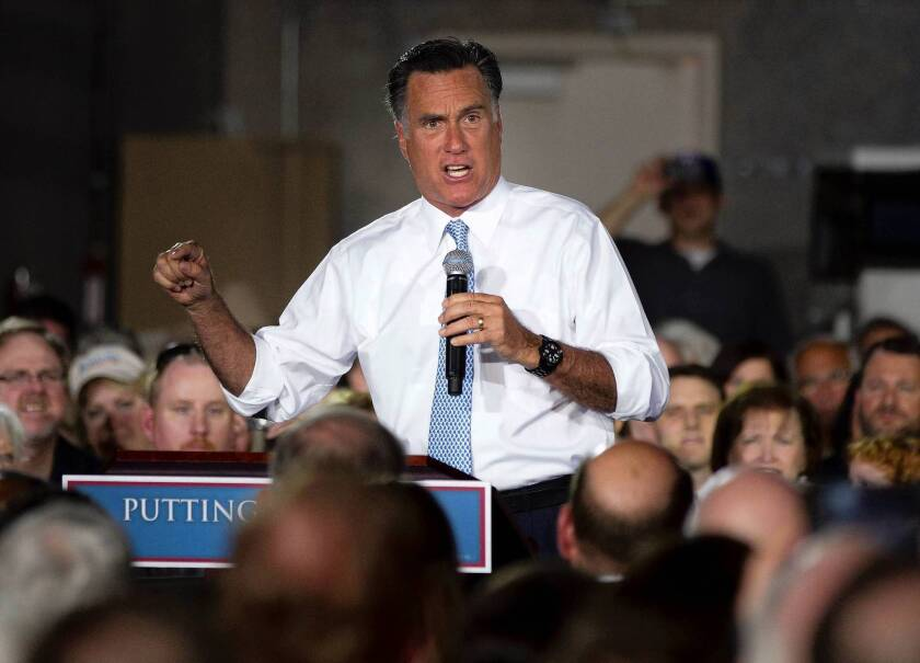 Mitt Romney sweeps primaries in 5 states