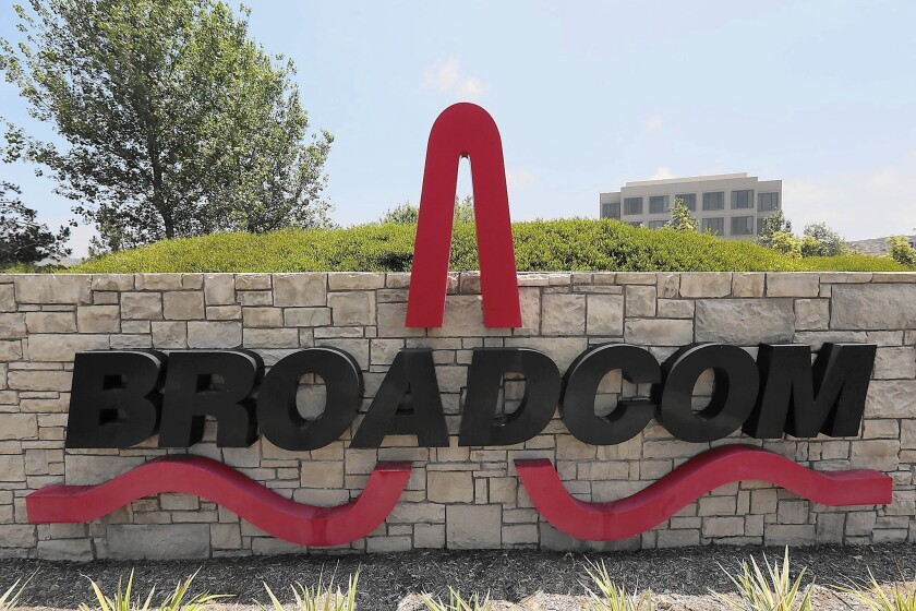 Broadcom Corp., the Irvine chip maker, has agreed to be bought by rival Avago Technologies Ltd. for $37 billion. The deal is not even in the top 10 global mergers announced this year.