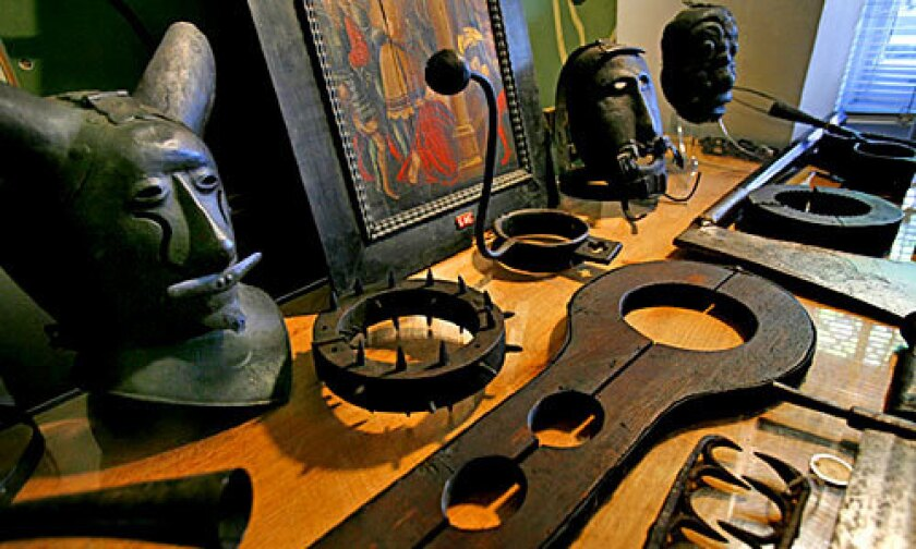 16th-century implements of torture