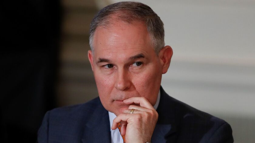 Environmental Protection Agency Administrator Scott Pruitt said he needed to fly first class because of unpleasant interactions with other travelers.