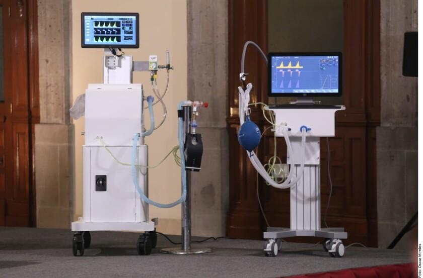 México presenta sus respiradores; presumen bajo costo - San Diego ...