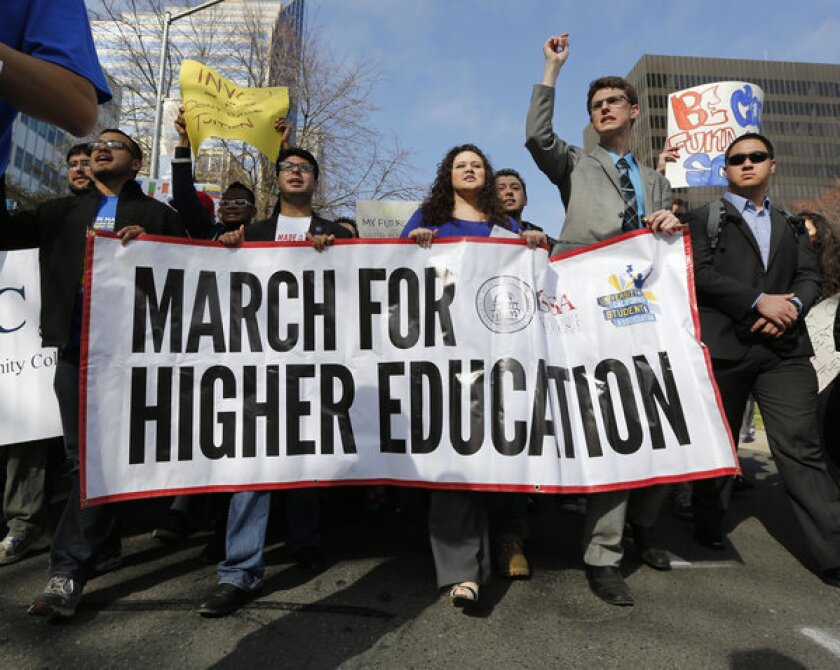 California workers face a growing education gap, study says