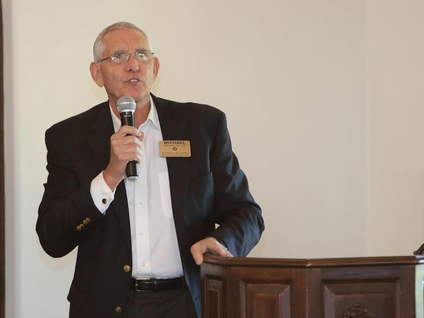 RSF Rotary Club President Mike Taylor