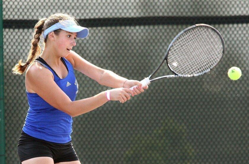 Lilit Vardanyan is leader of Burbank tennis pack
