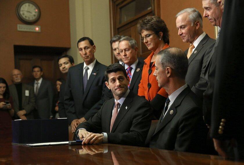 Paul Ryan Signs Defense Authorization Act Bill