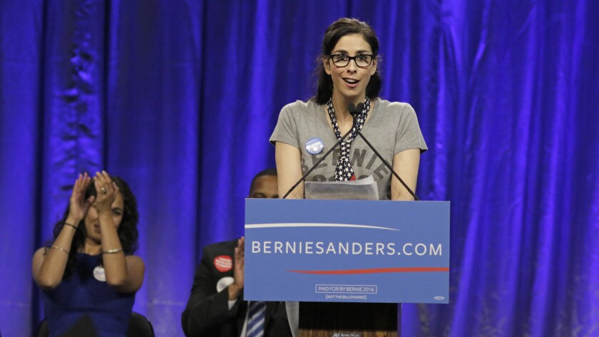 Comedian Sarah Silverman tweeted her despair after her preferred candidate, Sen. Bernie Sanders, dropped out of the 2020 presidential race.