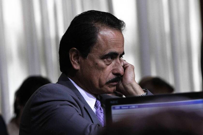 Witness: Alarcon was living in house listed as official residence