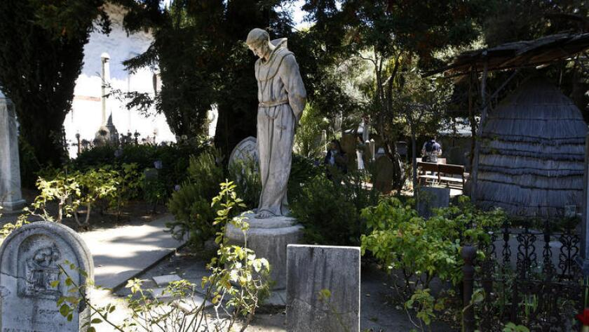 A statue of Junipero Serra