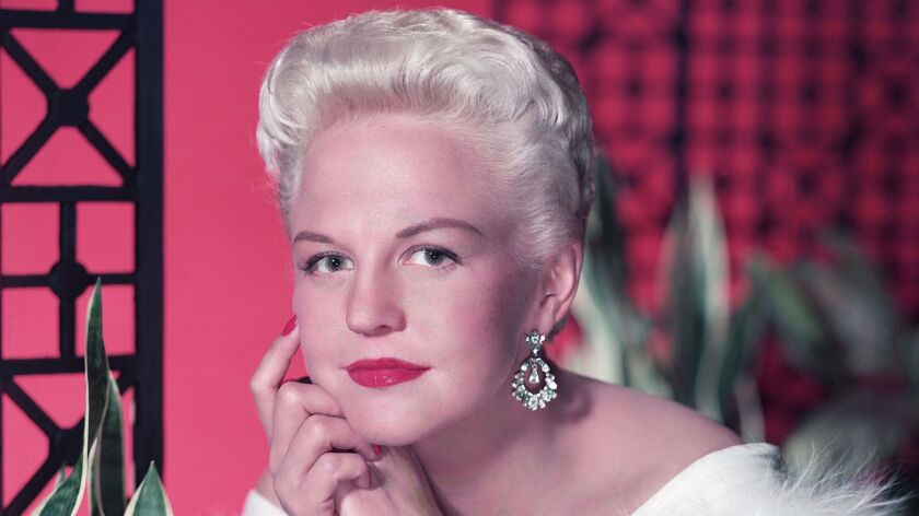 From the Archives: Peggy Lee, Sultry Jazz and Pop Singer, Dies at 81