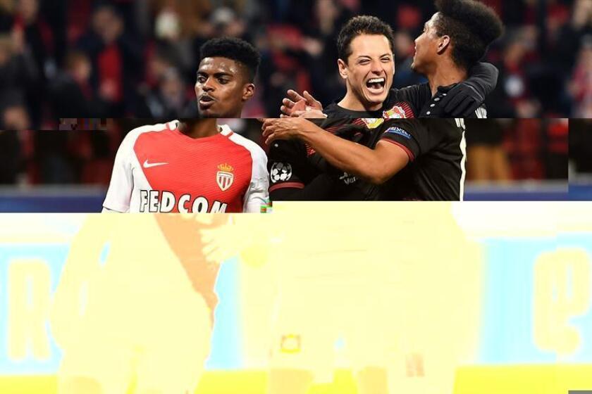 El Bayer Leverkusen goleó este miércoles por 3-0 al Monaco en un partido que sólo tenía un valor estadístico, con los dos equipos ya clasificados a octavos de final de la Liga de Campeones de fútbol y con las posiciones del grupo ya definidas. EFE/ARCHIVO