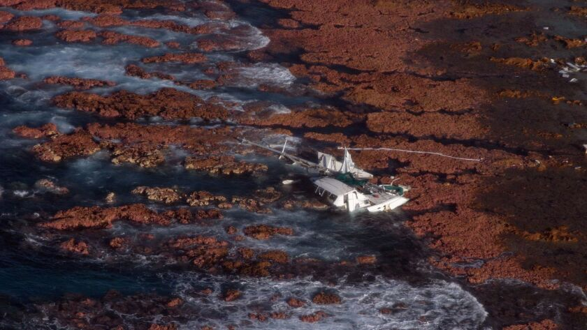 The wreck of the Emerald Jane, June 2005.
