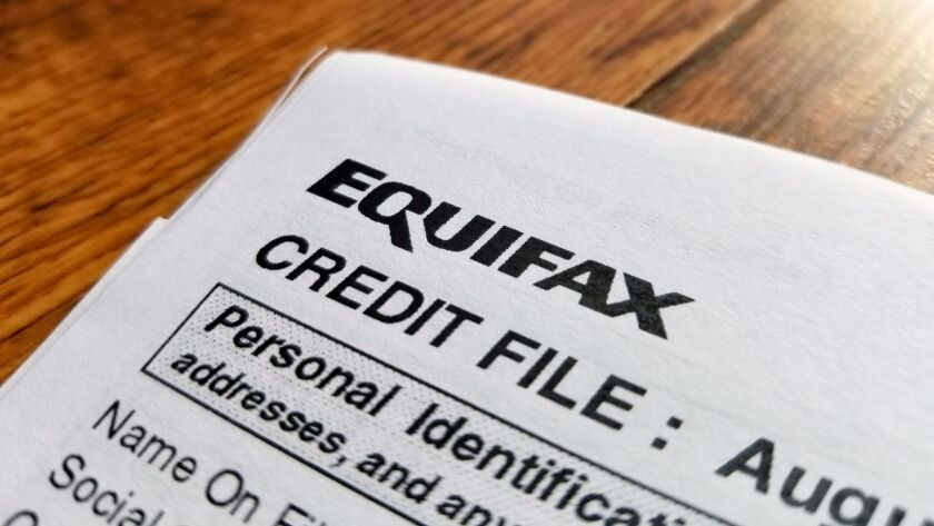 In September, a data breach at Equifax exposed the personal information of thousands of customers. A proposed California ballot measure would make major incidents subject to legal action and possible financial penalties.
