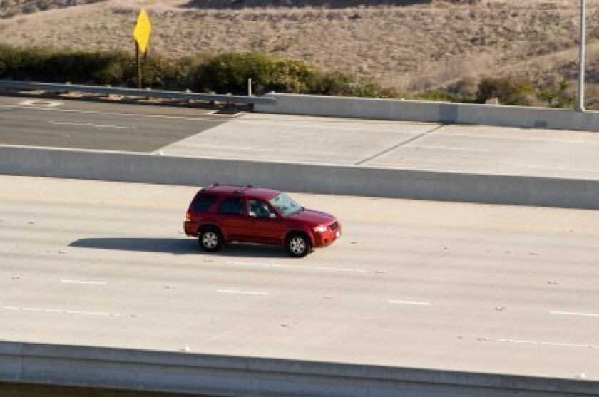 SUV drivers are urged to take it slow.