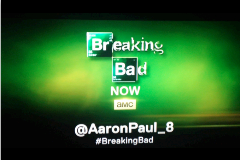 """Aaron Paul, who plays Jesse Pinkman on """"Breaking Bad,"""" has become a Twitter all-star by live tweeting episodes."""