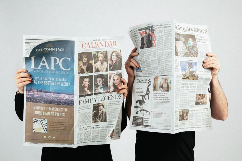 Los Angeles Times restaurant critics Patricia Escárcega and Bill Addison