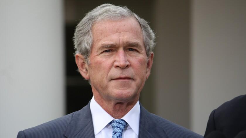 El ex Presidente de Estados Unidos, George W. Bush, defendió hoy los logros del Tratado de Libre Comercio de América del Norte (TLCAN). Aseguró que el enojo no puede ser la guía de la política pública en referencia al Presidente Electo Donald Trump que exige renegociarlo.