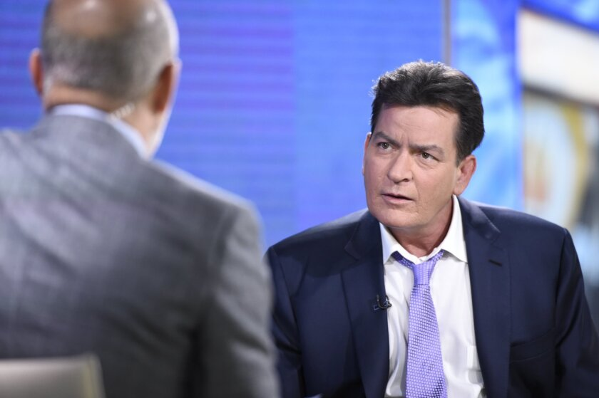 "Charlie Sheen went on the ""Today"" show Tuesday to put the official seal on news that broke the day before: He's HIV-positive."