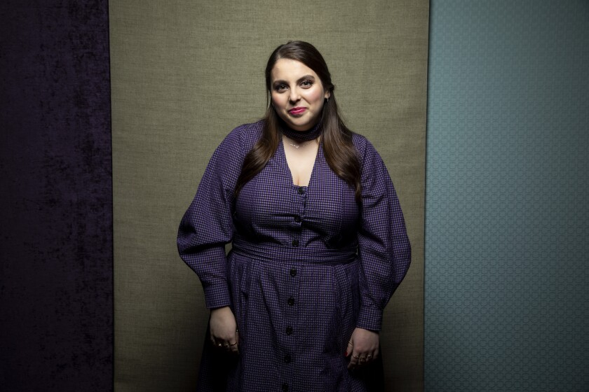 "Beanie Feldstein, from the film ""How to Build a Girl,"" photographed in the L.A. Times Photo Studio at the Toronto International Film Festival"