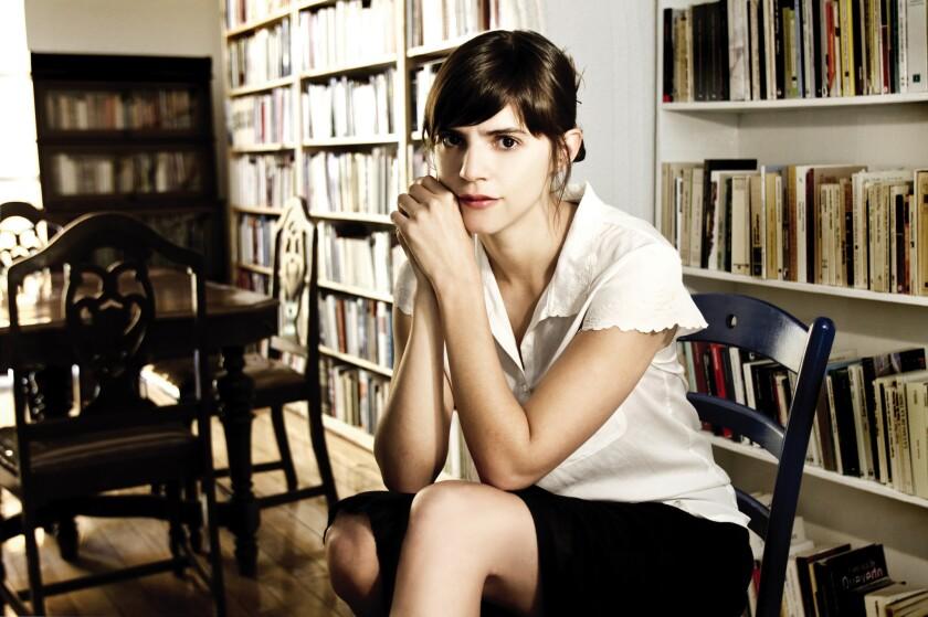 Author Valeria Luiselli.