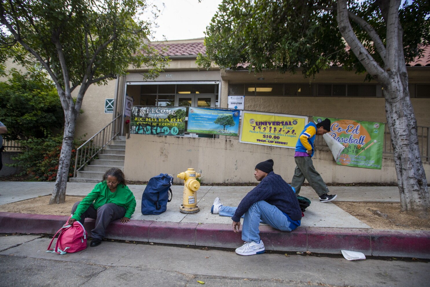 Before coronavirus hits, California scrambles to shelter homeless - Los  Angeles Times