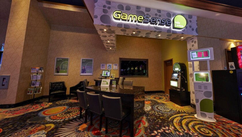MGM plans to add GameSense areas (shown here at Cascades Casino in Kamloops, British Columbia) with trained advisors in its casinos in Las Vegas and nationwide.