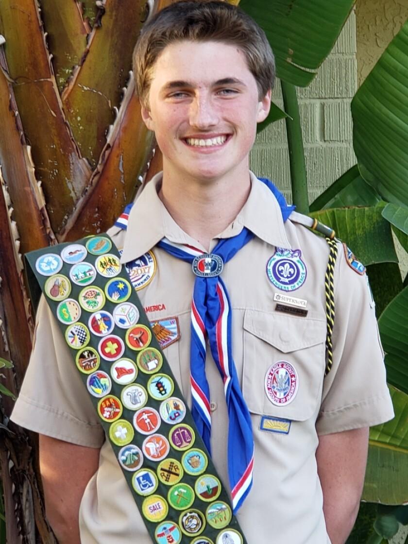 Stevin Latimer, 16, of Vista