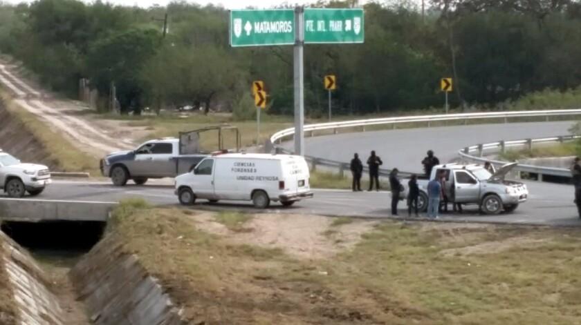 Abandonan los cuerpos en Reynosa