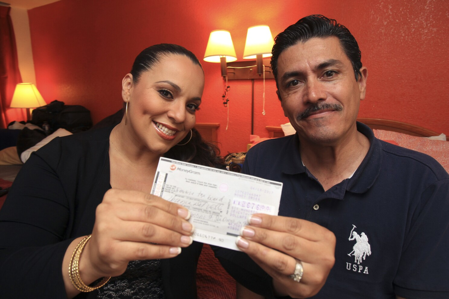 San Diego man turns in $676 check, luck instantly turns around