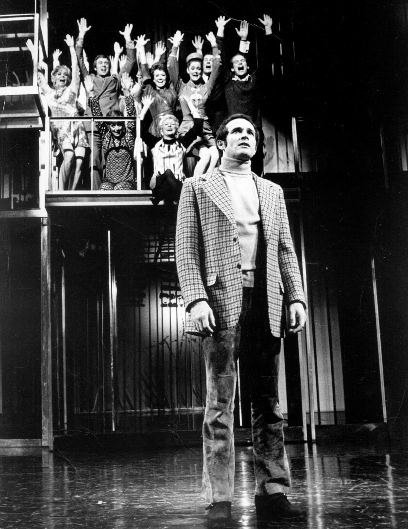 """""""Company,"""" which opened on Broadway in 1970, centered on a perennial bachelor and his 10 coupled friends."""
