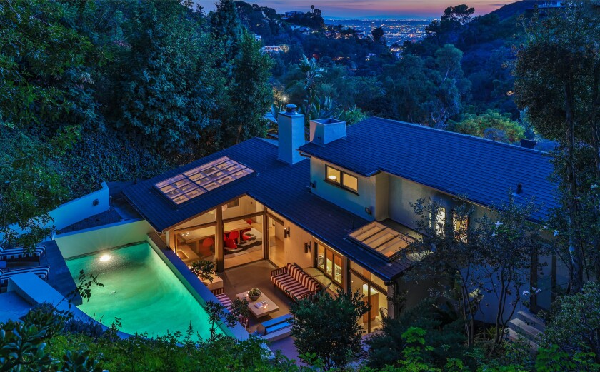 Michael C. Hall's former Hollywood Hills home